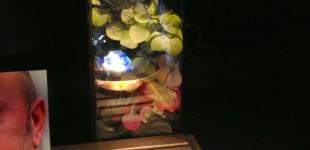 Ongebruikelijke Display/Altaartje. LED. (130049)