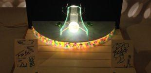 Ongebruikelijke Display/Altaartje. LED. (140181)